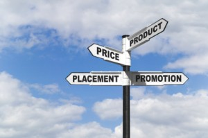 Product, Price, Placement and Promotion