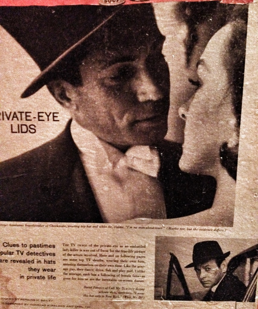 "Vintage zine: ""Private Eye Lids"""