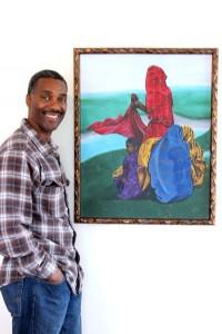 Olatushani & painting
