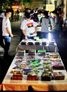 Pirated DVDs in Singapore (David Sifry)