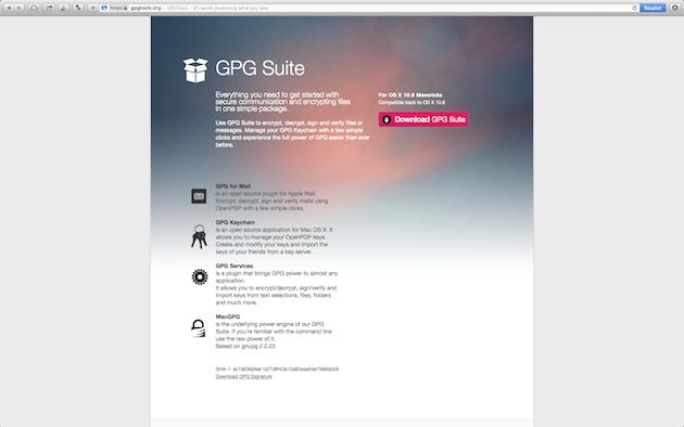 PGP Tutorial Step 1