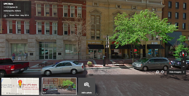 Google Street View screen shot
