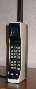 Motorola DynaTAC 8000X from 1984. (photo by Redrum0486)