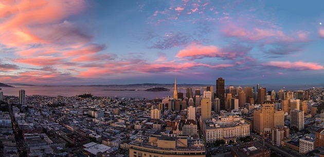San Francisco sunset