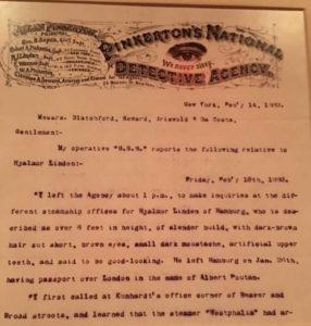 Pinkerton report
