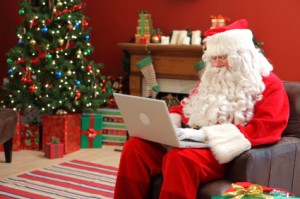 Private Investigators LOVE Santa Claus!