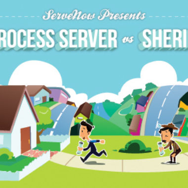 Process Server versus the Sheriff's Deputy
