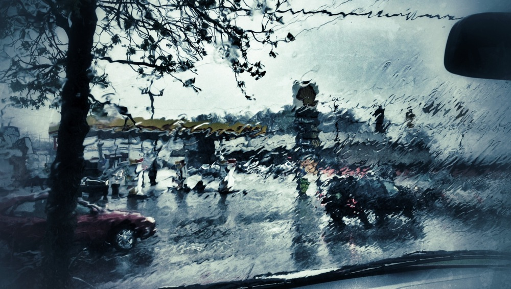 Rainy surveillance