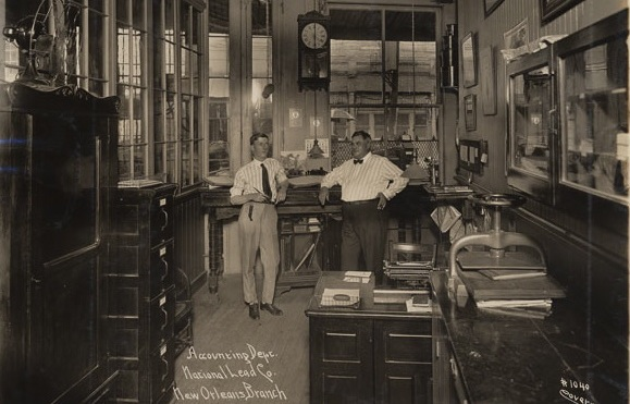 National Lead, NOLA Accounting Office: 1917