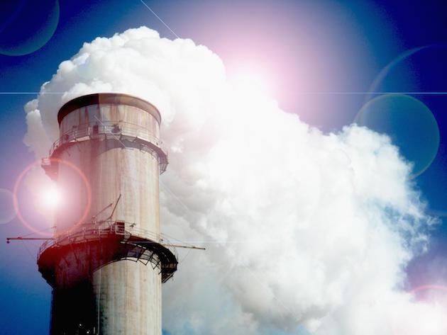 Smokestack sky