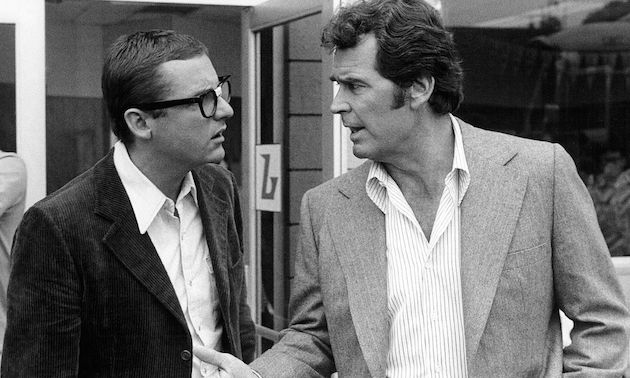 """James Garner; James Whitmore Jr. Rockford Files 1977, by NBC Television"